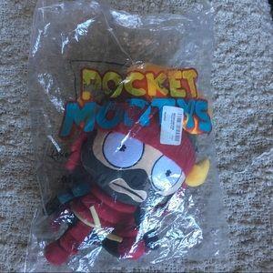 NEW Pocket Mortys Samurai Morty Plush